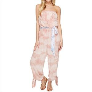 Free People Beach Strapless Jumpsuit